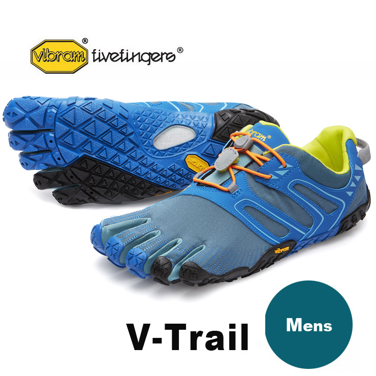 VibramFiveFingers ビブラムファイブフィンガーズ 5本指シューズ V-Trail Tapestry / Blue 18M6902