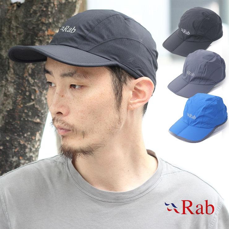 Rab ラブ キャップ SPARK CAP メンズ 帽子 レディース フリーサイズ 全3色 アウトドア 折り畳める【返品交換不可】