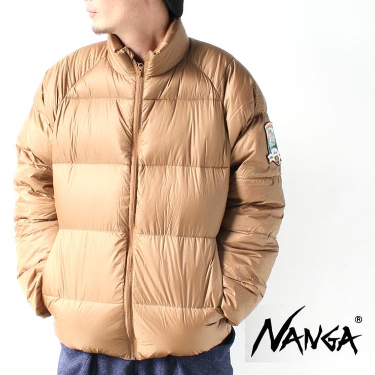 ナンガ ダウンジャケット メンズ ベージュ カジュアル アウター ダウン ジャケット NANGA 25th Anniversary Down Jacket 25周年記念ジャケット 大きいサイズ ブランド 秋 冬 秋冬 XL 軽量