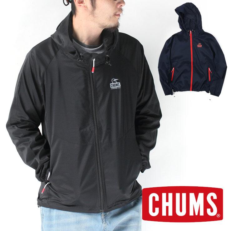 チャムス パーカー chums パーカー メンズ レディース Ladybug Jacket レディバグジャケット CH04-1178 チャムス 店舗 大阪 ウインドブレーカー ナイロンジャケット マウンテンジャケット