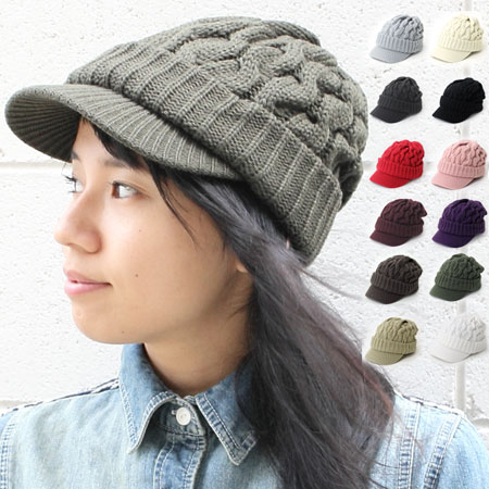 Crochet cable knit newsboy   men s women s knit Cap brim with Hat outdoor  fashion winter autumn winter new tuba knit hat knit 4aba85ee56f