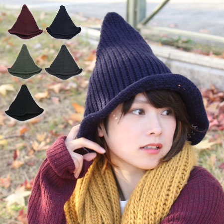 Knit Wizard HAT tongari Hat Tongass knit Cap snowboard plain Knit Cap knit  Cap Hat ladies men s autumn-winter cold new e02bdea5ea6