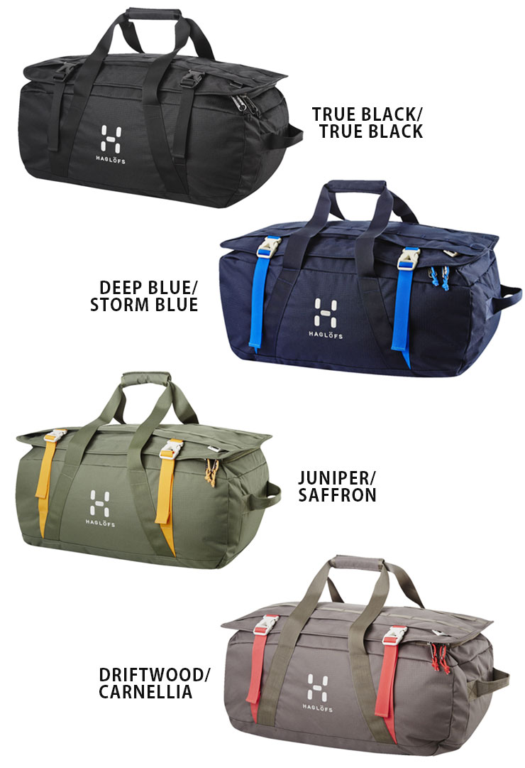 Haglofs Hog Rows 40 Cargo Duffel Bag Boston Rucksack Backpack Trip Travel Outdoor Fashion New