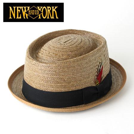 ce0d93d5cd5ec NEWYORKHAT New York Hat straw hat  2130 Coconut Be-Bop ココナッツビーバップ mens new  2012 spring summer pork pie ( 12 ss)