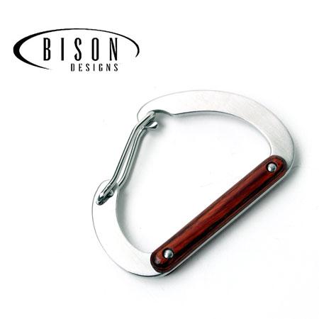 【あす楽】 カラビナ キーホルダー Bison Designs バイソンデザイン stainless steel woody 8cm D BISON DESIGNS メンズ レディース カラビナ キーホルダー おしゃれ