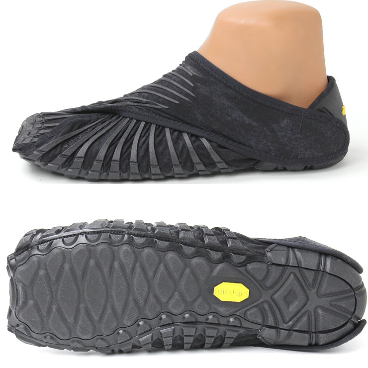 Vibram 五趾鞋 Vibram 五个手指日式黑色男装女装的男人和女人中性男士女士日式包装的布杂志张贴鞋春夏季春夏季 VibramFiveFingers Vibram 五个手指
