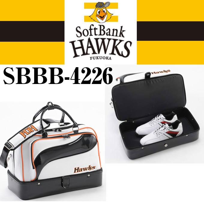 【LEZAX 福岡ソフトバンクホークス】レザックス オフィシャルゴルフグッズ SBBB-4226 ボストンバッグ