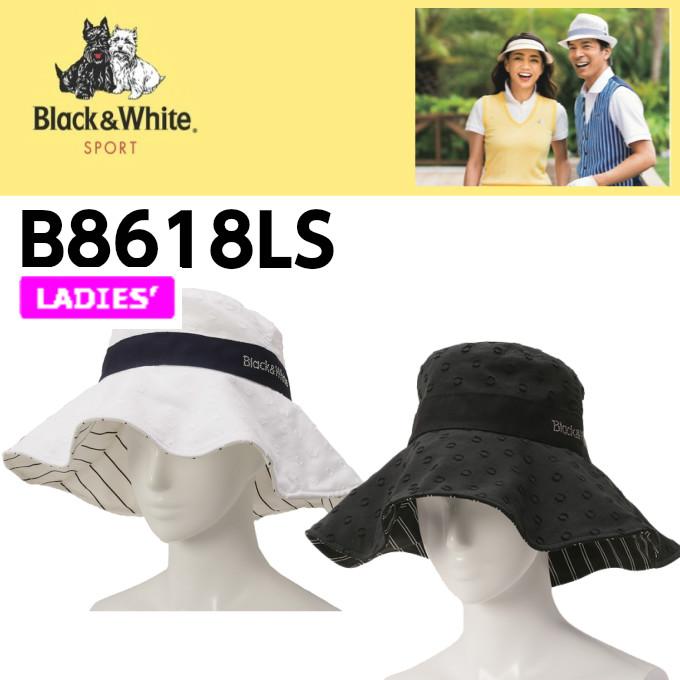【Black&White 2018年モデル】ブラック&ホワイト ハット/帽子 B8618LS