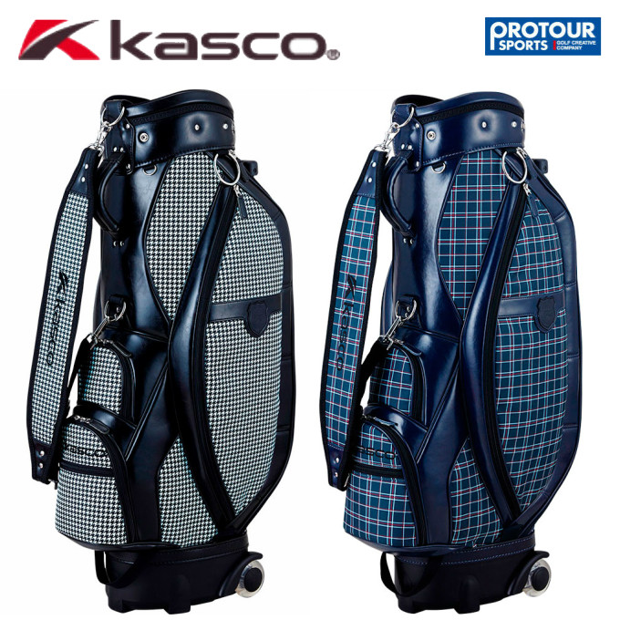 KASCO キャスコ キャスター付き キャディバッグ KS-088(28467)