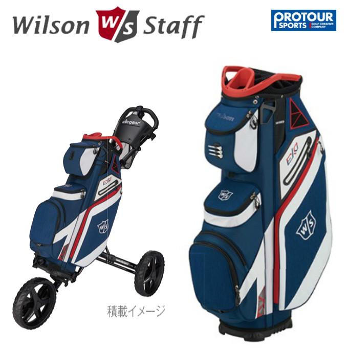 Wilson staff EXO ウィルソン スタッフ キャディバッグ (26124)