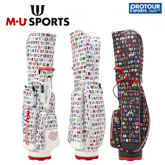 MU SPORTS エム ユー スポーツ キャディバッグ 703P1104