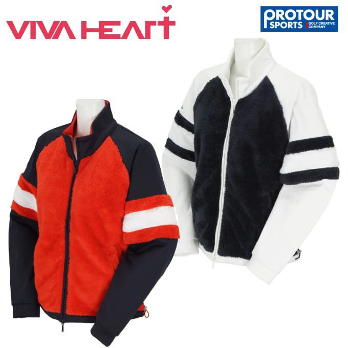 VIVA HEART ビバハート フルジップブルゾン 012-58011