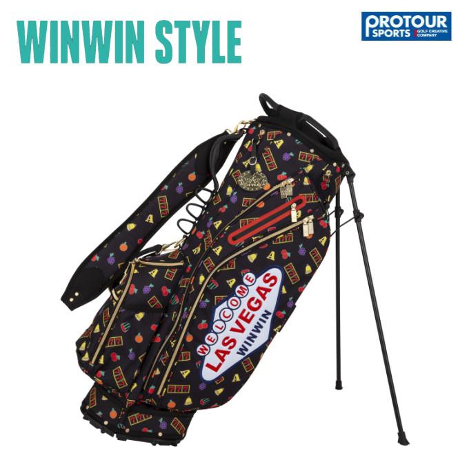 WINWIN STYLE ウィンウィンスタイル ラスベガス スタンド キャディバッグ CB-922