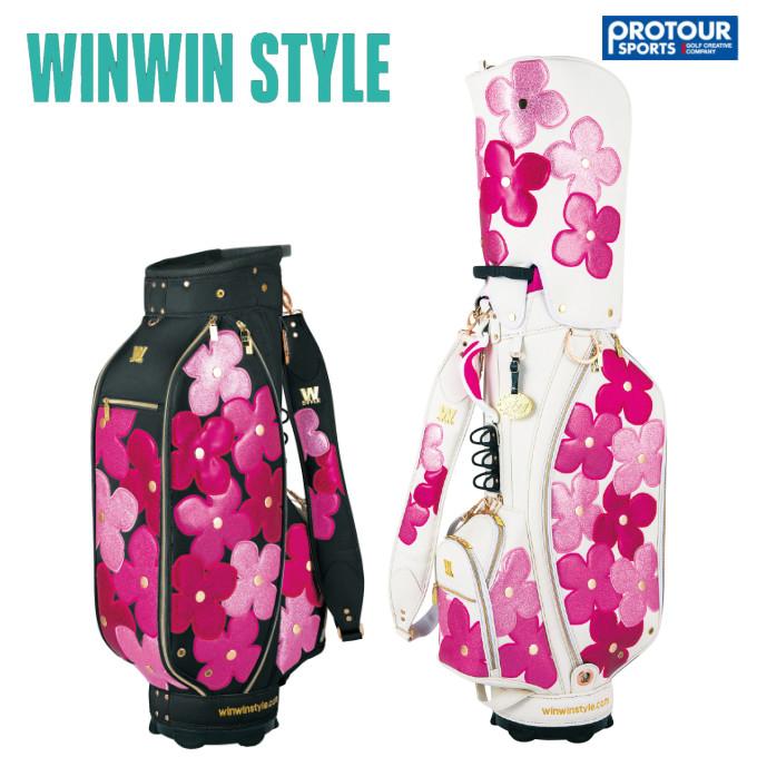 WINWIN STYLE ウィンウィンスタイル フラワーガーデン キャディバッグ CB-491/CB-492