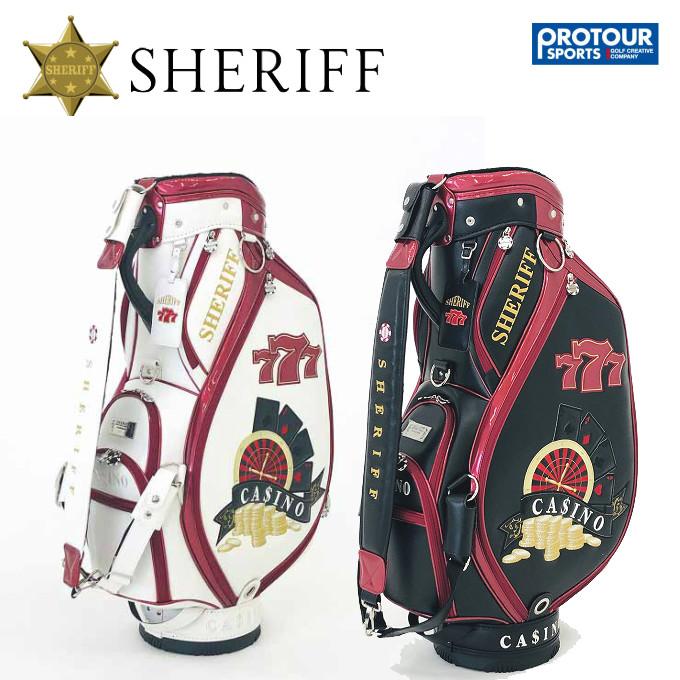SHERIFF シェリフゴルフ カジノシリーズ カートキャディバッグ SCA-006