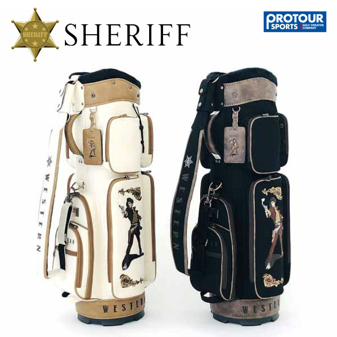 SHERIFF シェリフゴルフ ウエスタンシリーズ キャディバッグ SFW-009