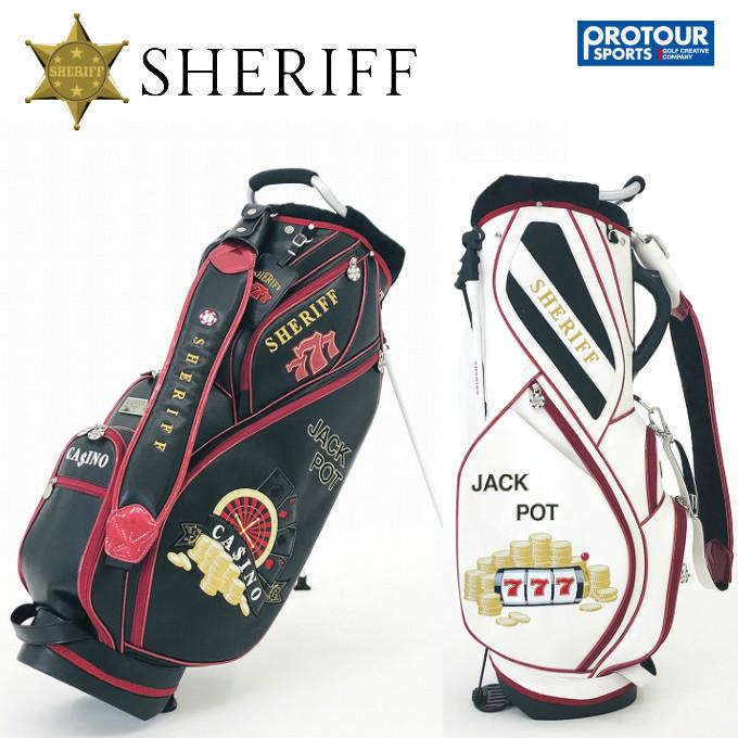 SHERIFF シェリフゴルフ カジノシリーズ スタンド キャディバッグ SCA-007