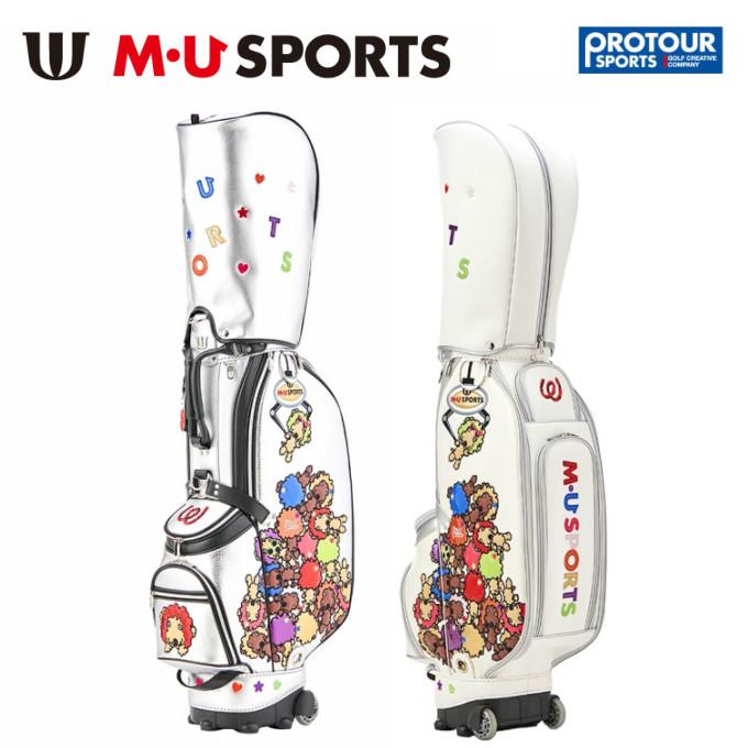 MU SPORTS エム ユー スポーツ キャスター付 キャディバッグ 703P6100