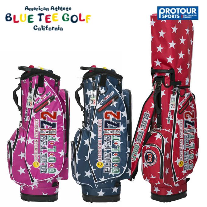 BLUE TEE GOLF ブルーティーゴルフ スターナイロンキャディバッグ CB-006