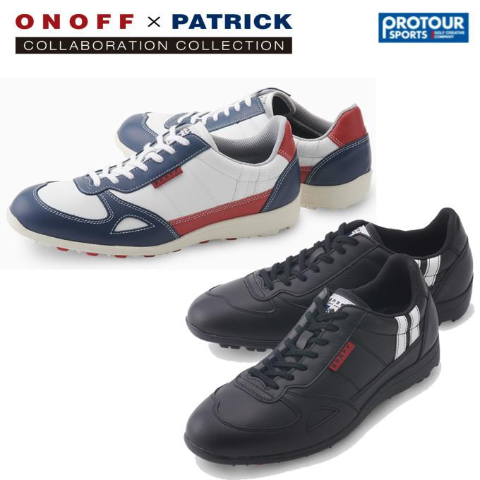 ONOFF×Patrick オノフ×パトリック ゴルフシューズ PS0319