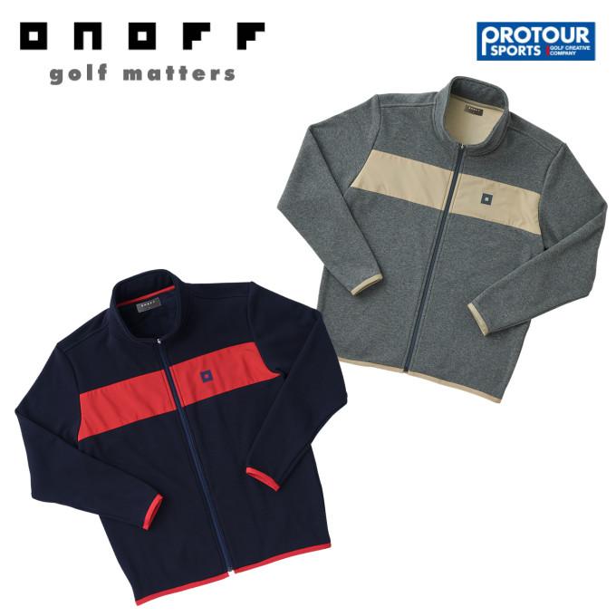ONOFF オノフ フリースブルゾン OPB101