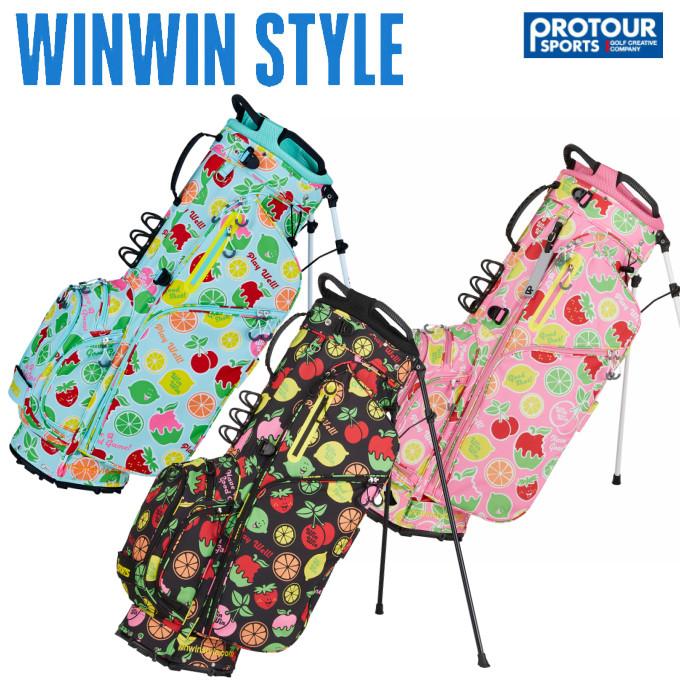 WINWIN STYLE ウィンウィンスタイル フルーツ パラダイス スタンド キャディバッグ CB-943/CB-944/CB-945