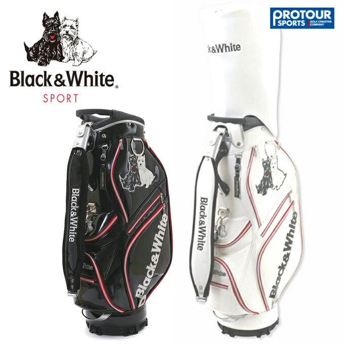 Black&White ブラック&ホワイト キャディバッグ BGS7009