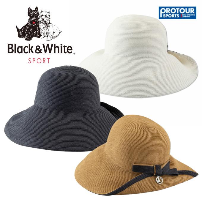 Black&White ブラック&ホワイト ツバ広ハット BLS8610 帽子