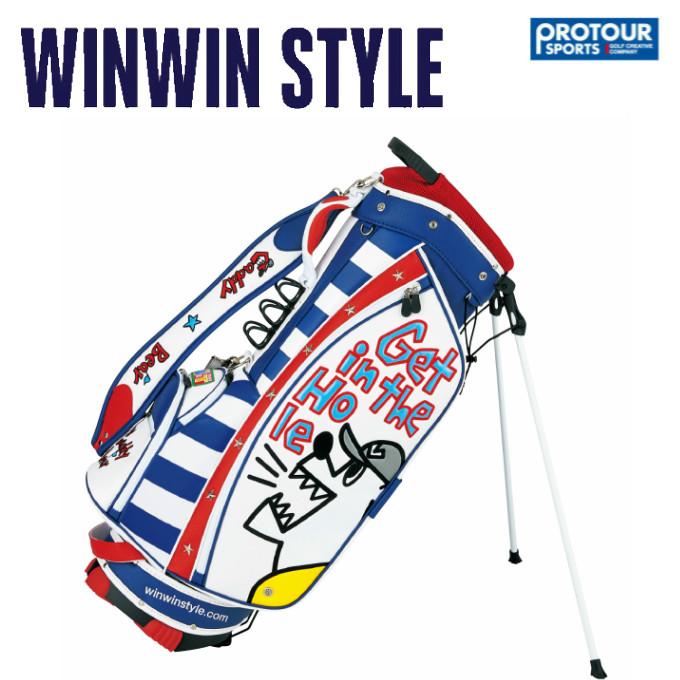 WINWIN STYLE スタンド キャディーベア キャディバッグ CB-651 ウィンウィンスタイル