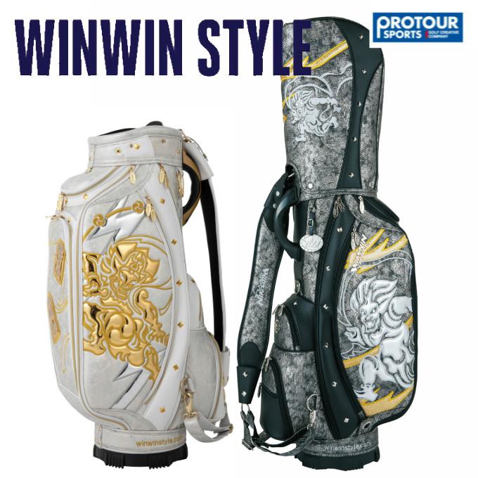 WINWIN STYLE ウィンウィンスタイル 風神/雷神 キャディバッグ CB-352/CB-353