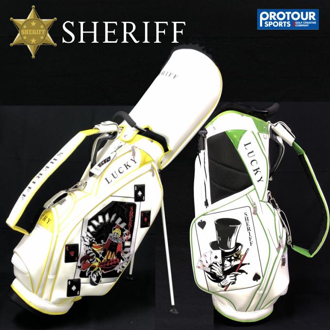 SHERIFF LUCKY SERIES シェリフゴルフ スタンドキャディバッグ SLK-002