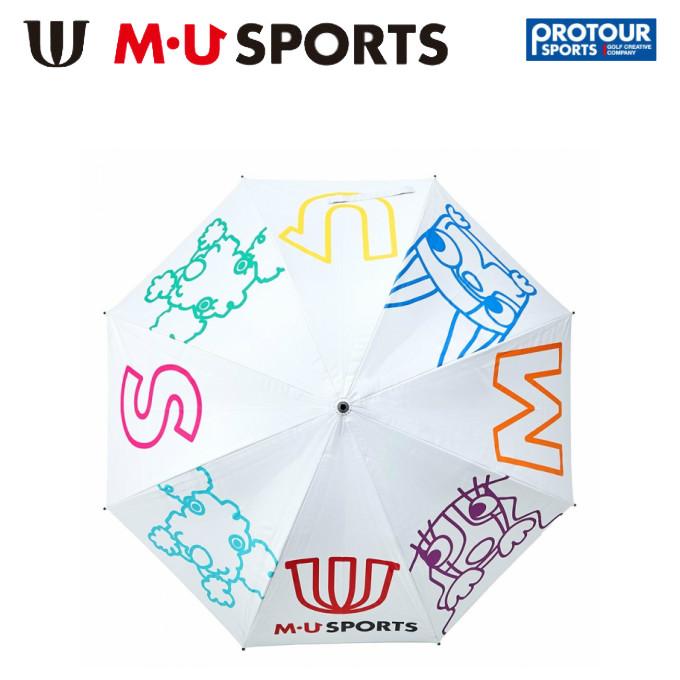 MU SPORTS エム ユー スポーツ マルチカラープリント パラソル 703C2930
