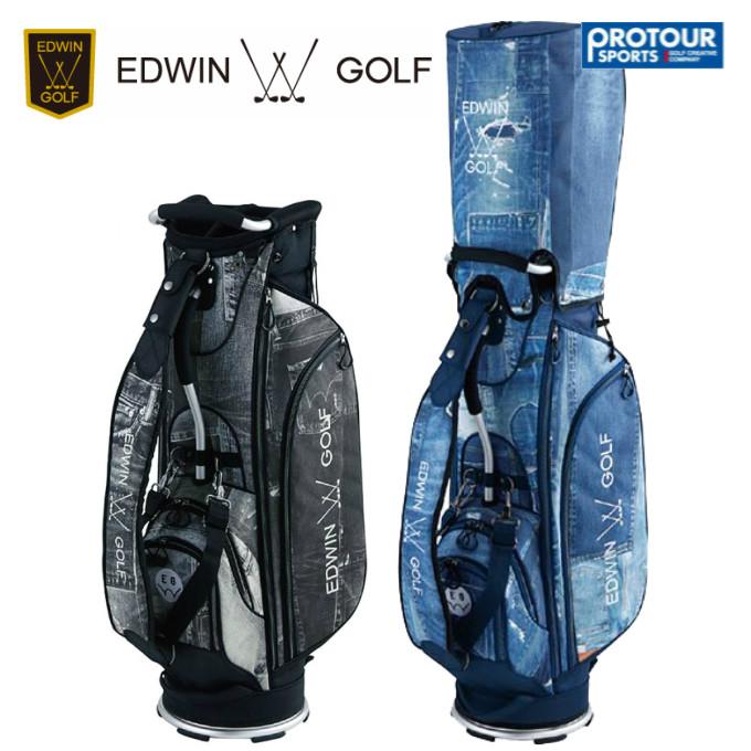EDWIN GOLF エドウィン ゴルフ キャディバッグ EDWIN-044(28821)