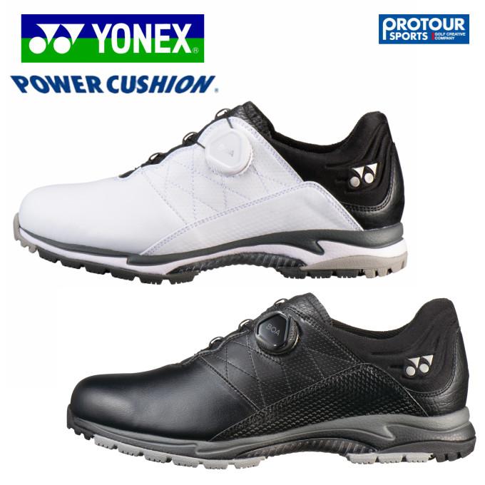 【YONEX POWER CUSHION AERUS GOLF2L】ヨネックス パワークッション エアラス スパイクレス ゴルフシューズ SHG-AR2L
