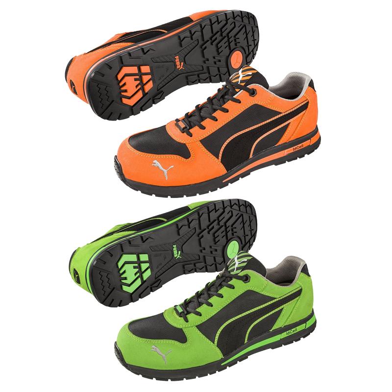 【在庫SALE】 PUMA プーマ Airtwist Low エアツイスト ロー セーフティスニーカー 安全靴 スエード メッシュ レースアップ メンズ靴 作業用品 JSAA規格A種認定品【送料無料(※北海道沖縄離島除く)】