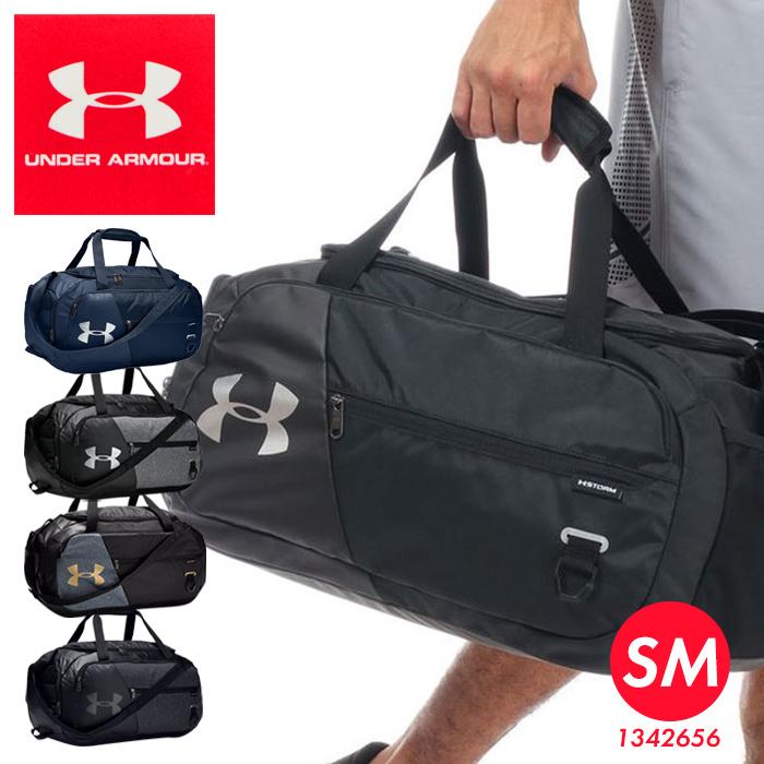 小旅行にもピッタリなボストンバッグ クーポン有 送料無料 2~3日分の荷物が収納できるアンダーアーマーのダッフルバッグ UNDER ARMOUR UNDENIABLE DUFFEL 4.0 1342656 日本メーカー新品 直輸入品激安 41L 鞄 メンズ SM レディース ユニセックス アンディナイアブル