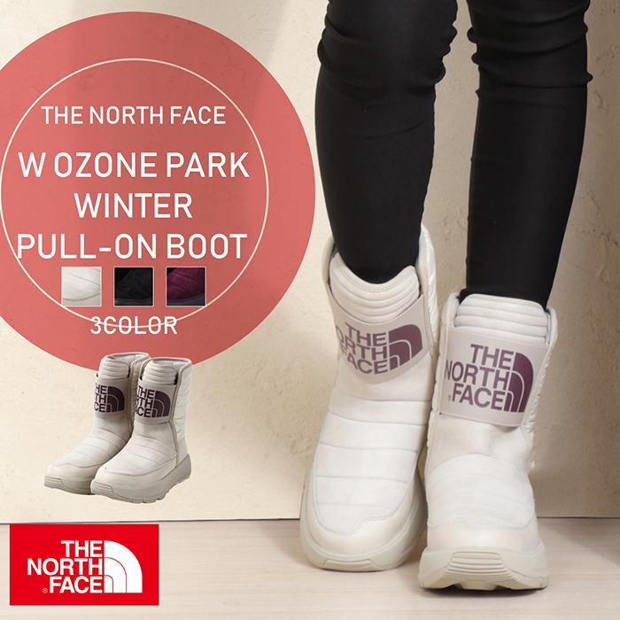 THE NORTH FACE W OZONE PARK WINTER PULL-ON BOOT ノースフェイス オズワン ウィンターブーツ アウトドア 防水 レディース 婦人 女性 ウィメンズ