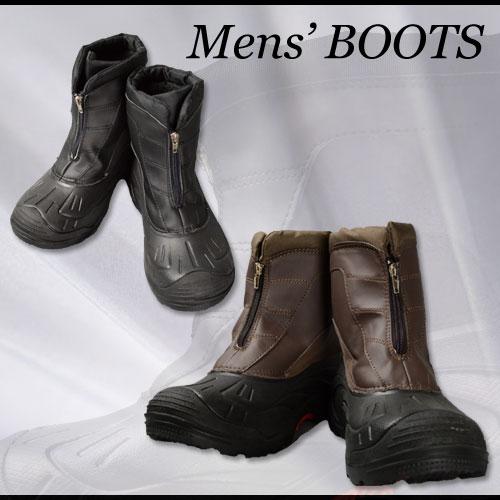 メンズ防寒ブーツ 雪 シューズ 男性用 防寒靴