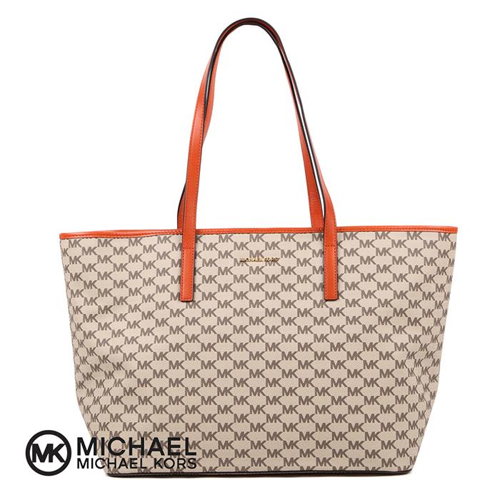 MICHAEL KORS EMRY LGTZ TOTEBAG 30F6AE4T7V マイケルコース ラージロゴ トートバッグ レディース 婦人 女性 バッグ 鞄