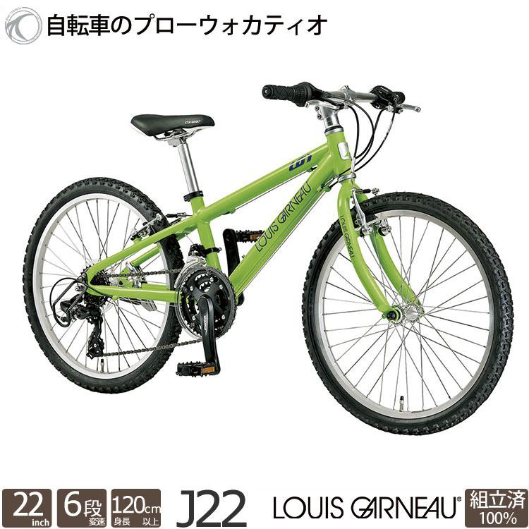 子供用自転車 ルイガノ J22 22インチ 18段変速 マウンテンバイク 2019 完全組立 店舗受取限定