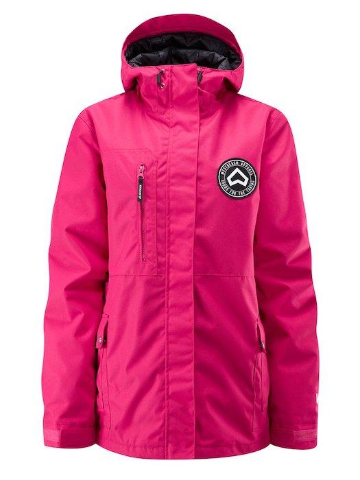 WESTBEACH Crush Jacket Cherry ウエストビーチ レディース スノーウェア ジャケット スノーボードウェア 耐水 防水 暖かい 女性