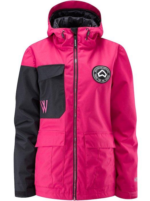 WESTBEACH Flux Jacket Cherry ウエストビーチ レディース スノーウェア ジャケット スノーボードウェア 耐水 防水 暖かい 女性