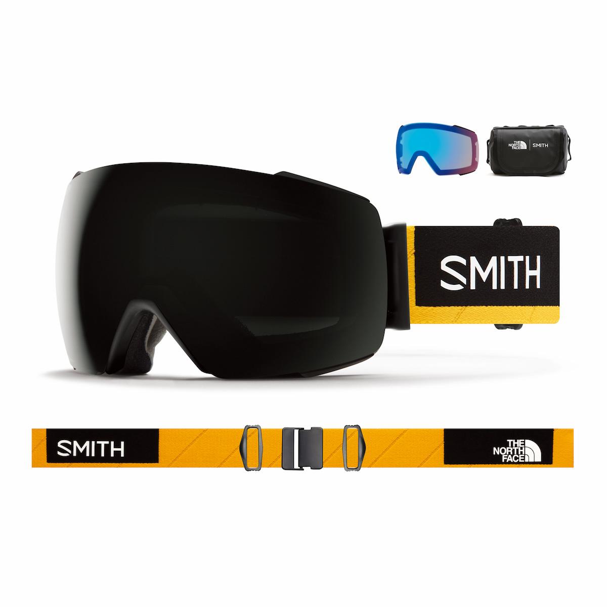 SMITH I/O MAG AC AustinSmith CP-SunBlack SMITH x THENORTHFACE ノースフェイス スミス アイオーマグ 数量限定 ノースフェイスコラボモデル
