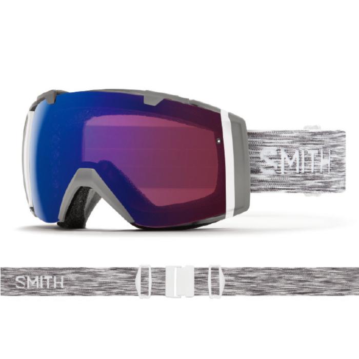 New!! 18 19 SMITH I/O CLOUDGREY スミス アイオー 調光 クロマポップ ゴーグル スペアレンズ付き スキー スノーボード アジアンフィット 正規品