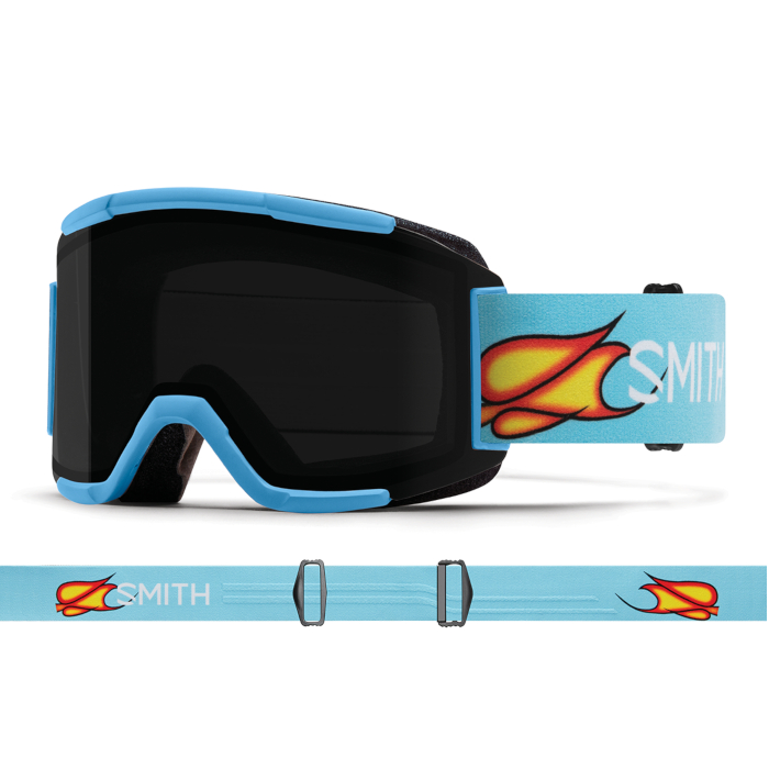 New!! 人気 18 19 SMITH Squad SCOTT STEVENS AC スミス スカッド クロマポップ ゴーグル スキー スノーボード アジアンフィット 正規品