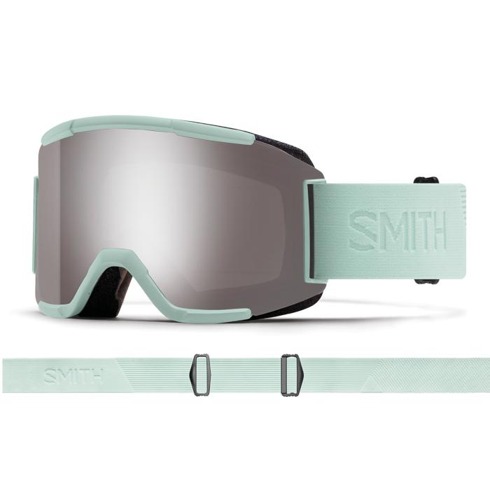 New!! 人気 18 19 SMITH Squad ICE FLOOD スミス スカッド クロマポップ ゴーグル スキー スノーボード アジアンフィット 正規品