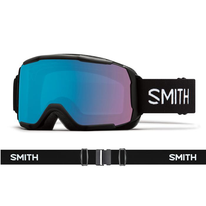 New!! 18 19 SMITH Showcase OTG BLACK スミス ショーケース ブラック クロマポップ ゴーグル レディース スキー スノーボード アジアンフィット 正規品