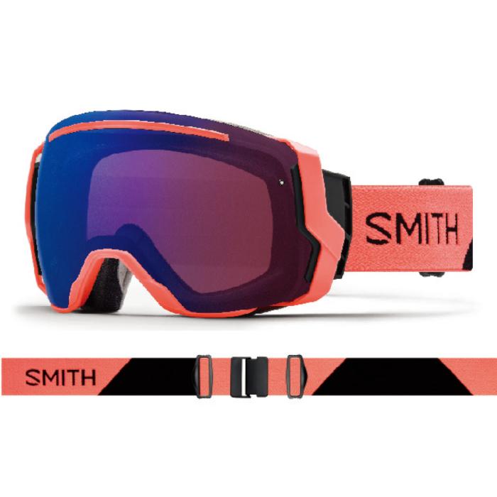 New!! 18 19 SMITH I/O7 SUNBURST SPLIT スミス アイオーセブン 調光 クロマポップ ゴーグル スペアレンズ付き スキー スノーボード アジアンフィット 正規品