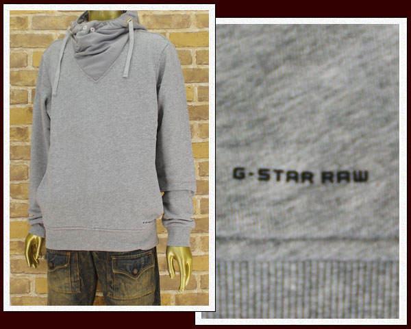 G-STAR RAW ジースターロウ Safari掲載ブランド スウェットパーカー メンズ 【85603D.6123.906】