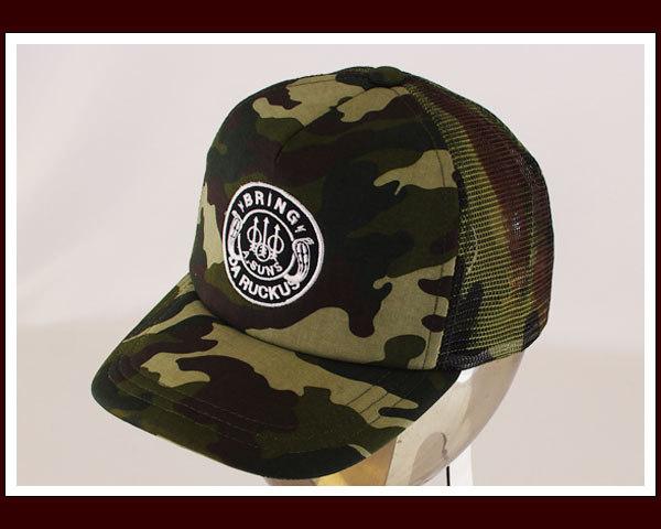 04d98bd695d4e ps-alpha  Men s ANDSUNS Wiley RUCKS TRACKER mesh Cap (CAP)